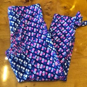 Lilly Pulitzer Mini leggings size L (8-10)